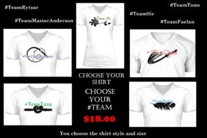 Team Shirt ad