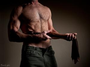 holding flogger